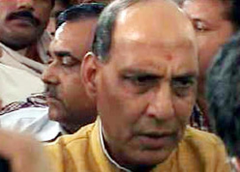 UP faces widespread anarchy: Rajnath