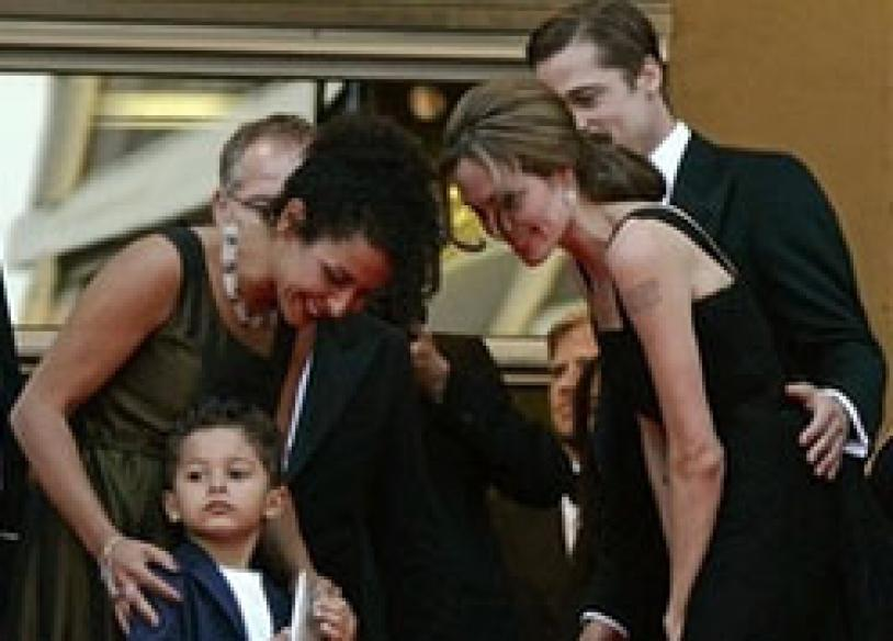 Jolie in Cannes to promote Pearl film