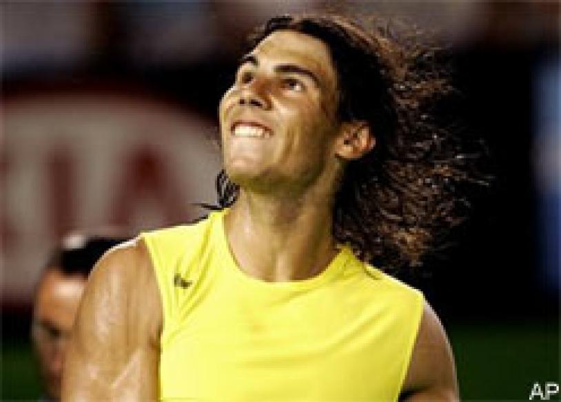 Roddick, Nadal enter last 16 in Rome