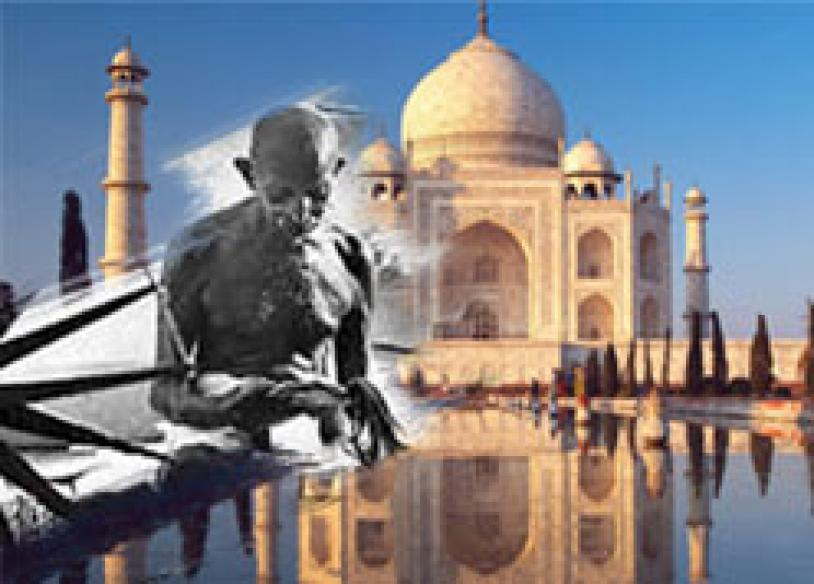 World identifies India with Gandhi, Taj, poverty: BBC