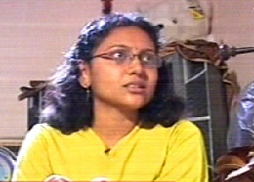 Chennai woman whistles her way to awards