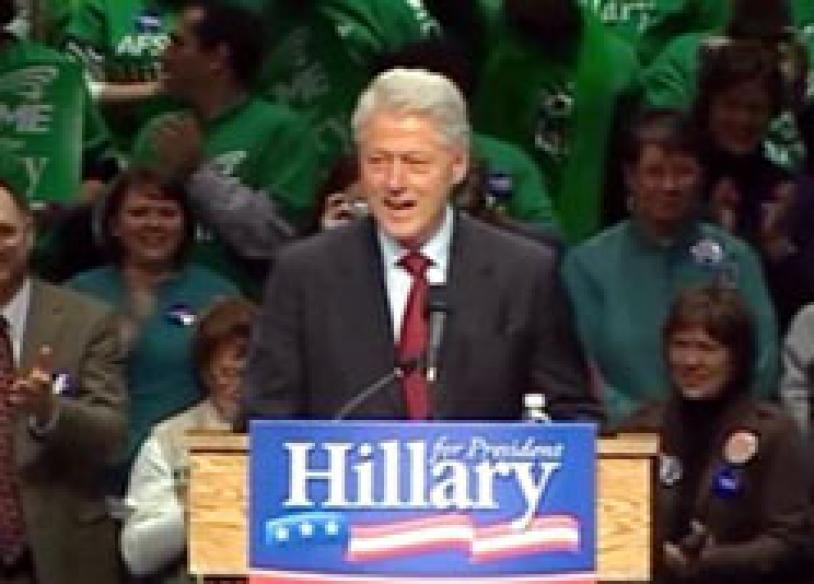 Bill bats for Hillary as US Prez race heats up