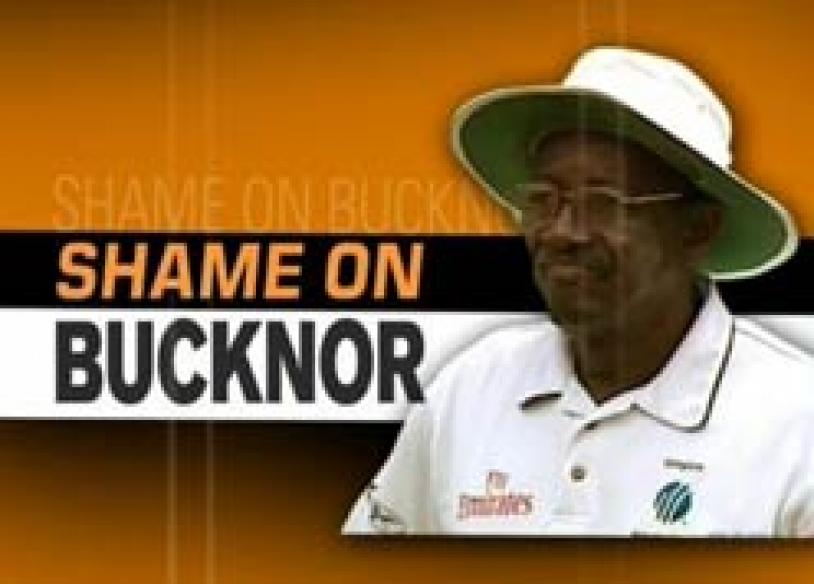 Bucknor booted out, not to officiate in third Test