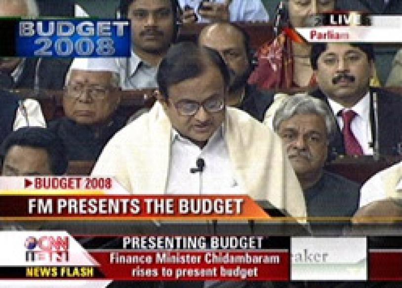 Budget speech 2008-09: Full text