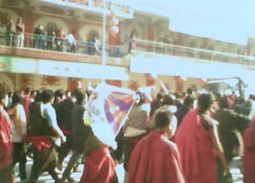 Tibet capital rocked by massive anti-China protests