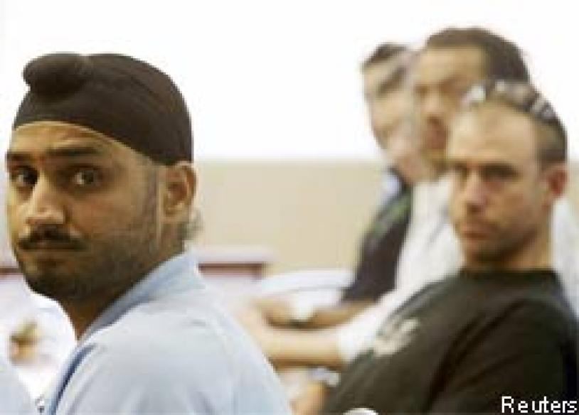 Cricket Australia demands action against Harbhajan