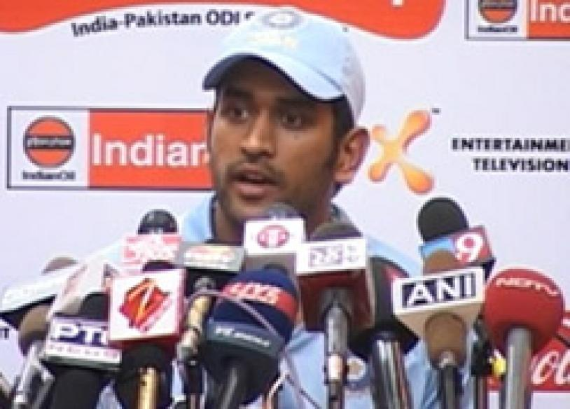Move over veterans, Dhoni defends 'young team'