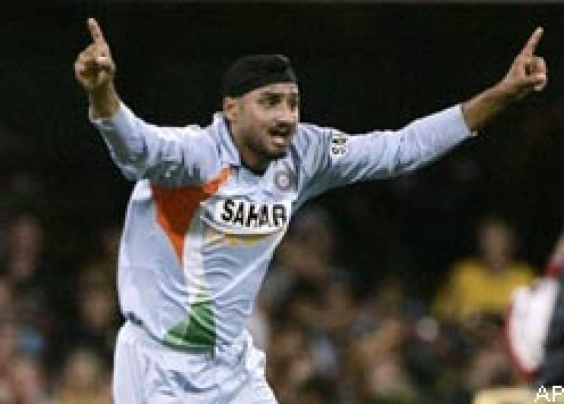 After the slap Bhajji had another go at Sreesanth