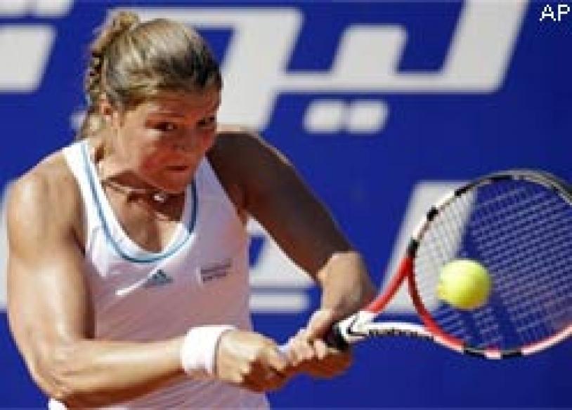 Safina ends Serena's win streak at German Open