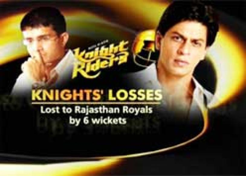 Kolkata livid after Knights fail to reach semis
