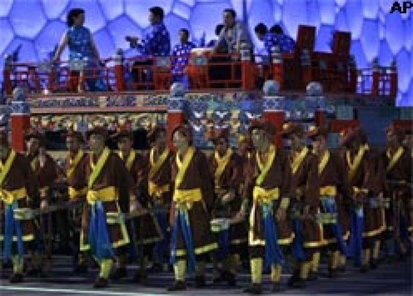 South Korean channel secretly films opening ceremony practice