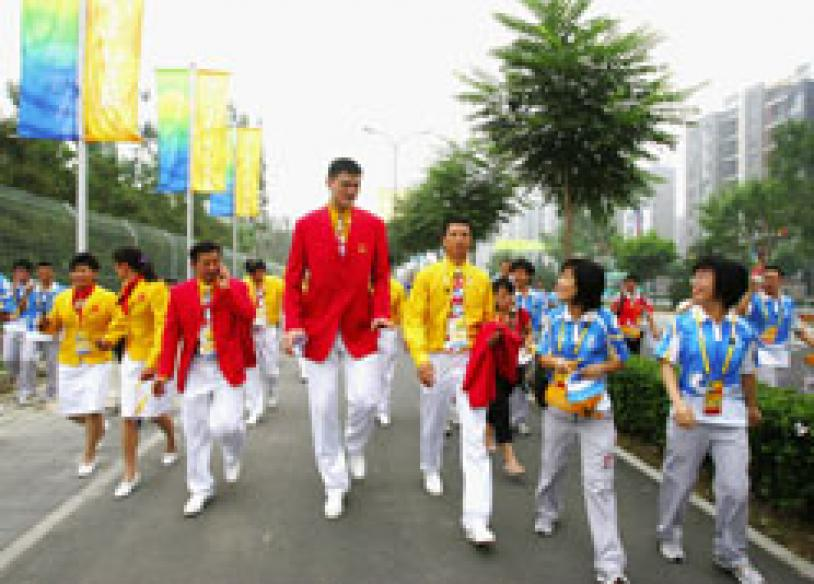 Olympic village opens on Sunday morning