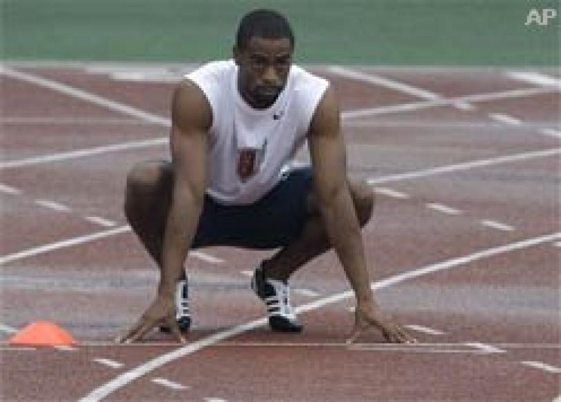 US sprinter out to make Jamaicans feel not so Gay