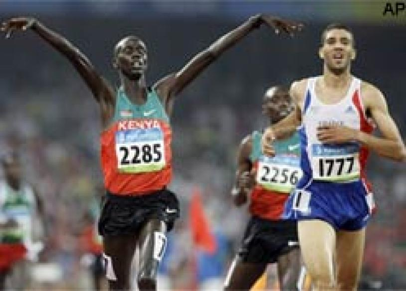 Kipruto extends Kenyan steeplechase dominance