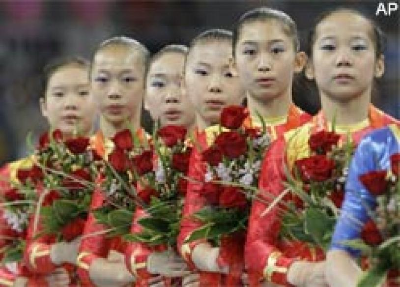 FIG wants more evidence from China on gymnasts' ages