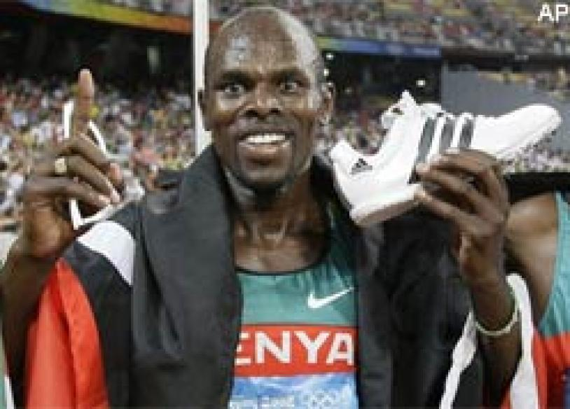 Kenya's Bungei leads from the front to win men's 800m