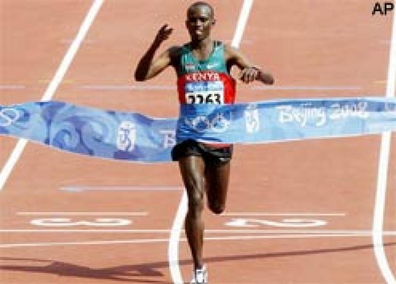 Wanjiru gives Kenya first Olympic marathon gold