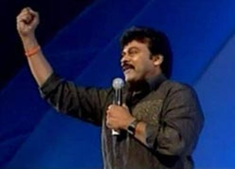 Fan frenzy at Chiru's party launch</a> | <a href='http://www.news18.com/news/two-chiru-fans-die-on-way-to-party-launch/72148-3.html'>2 die of heart attack</a>