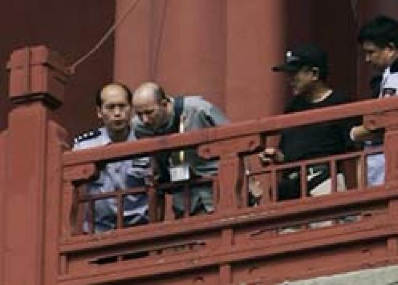 China's winning start dulled by city murder