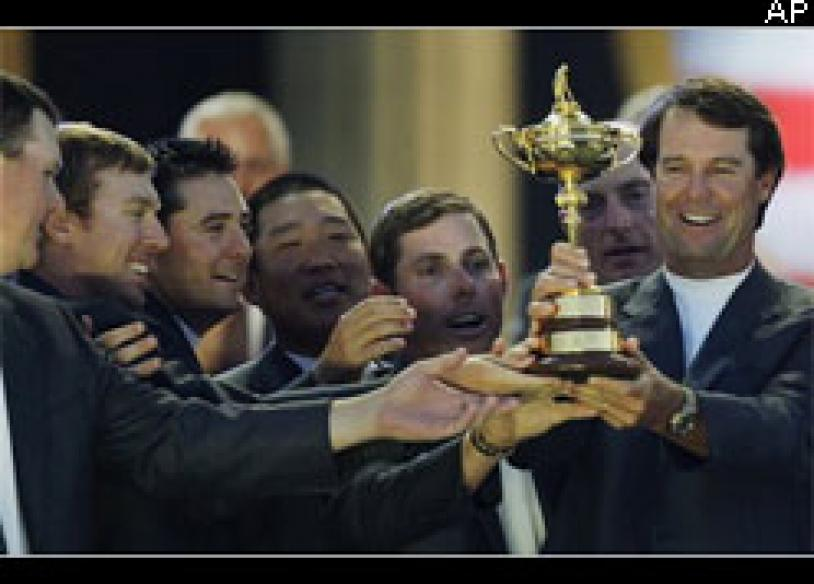 USA win Ryder Cup to end Europe's dominance