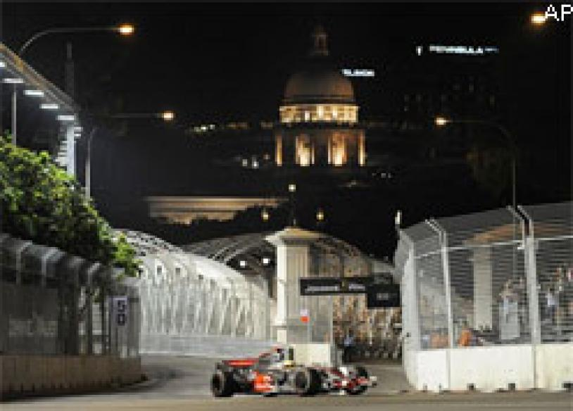 Formula One drives all excited about Singapore GP