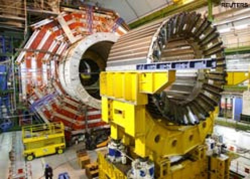 Doom-mongers worry: end of world on Big Bang test day