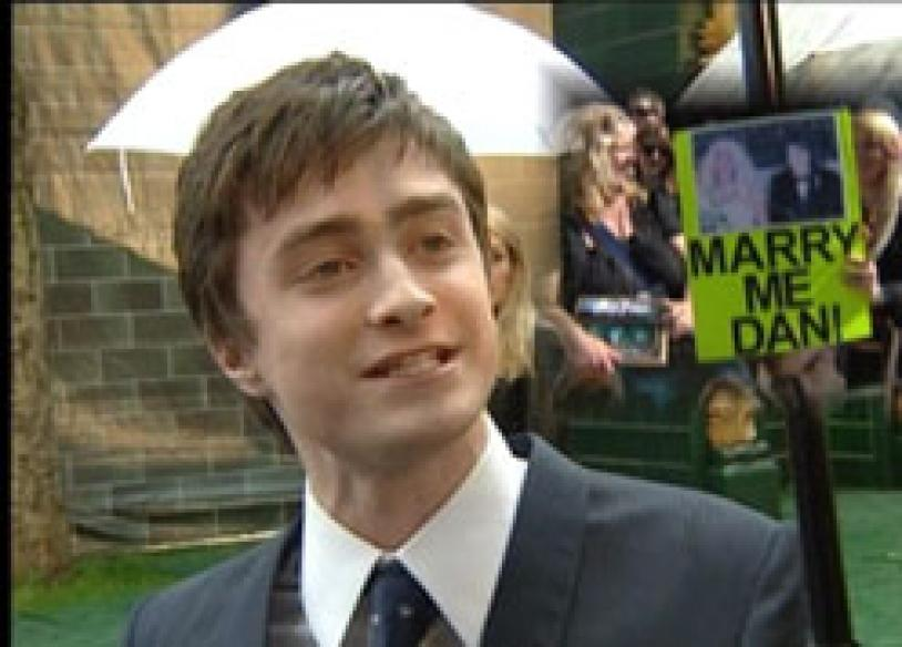 Damn hot! daniel radcliffe lost his virginity right