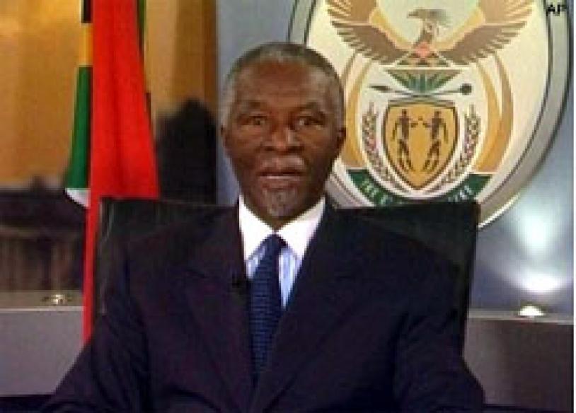 Mbeki formally resigns, denies role in Zuma prosecution