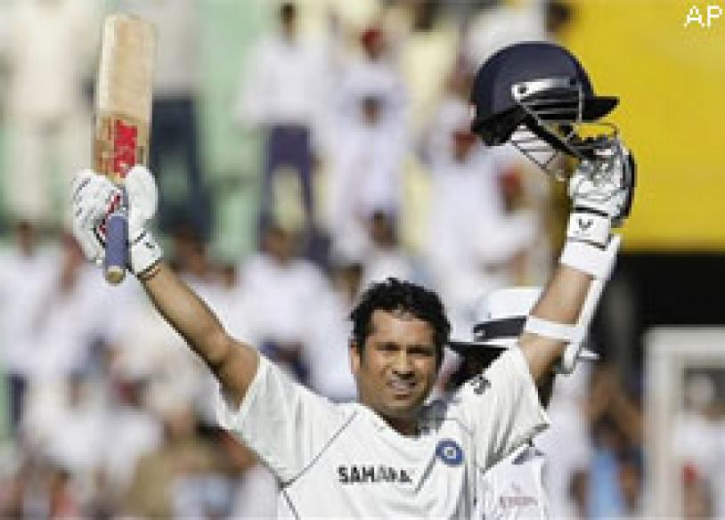 Tendulkar breaks Lara's record of most Test runs