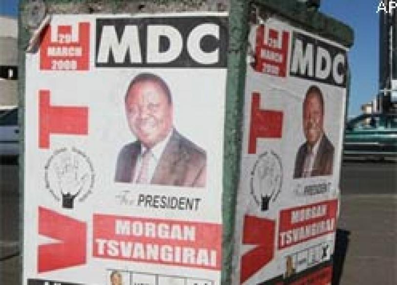 Zimbabwe's power-sharing talks adjourned