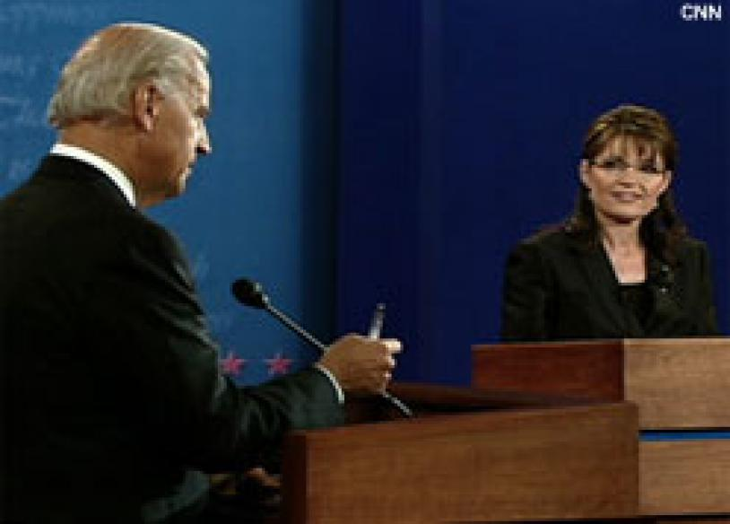 Full transcript: Palin, Biden vice-presidential debate