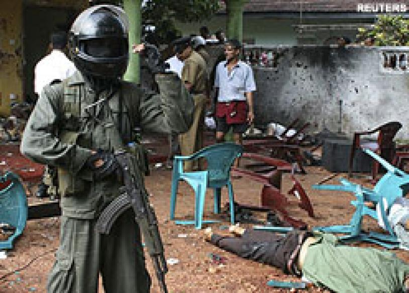 25 killed, 80 injured in Sri Lanka suicide terror attack