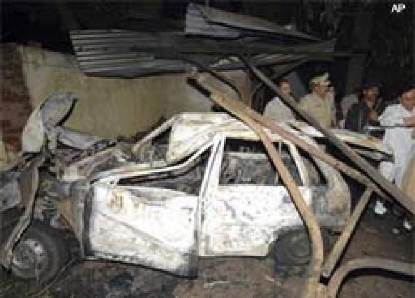 Key accused in Ahmedabad blasts held in MP
