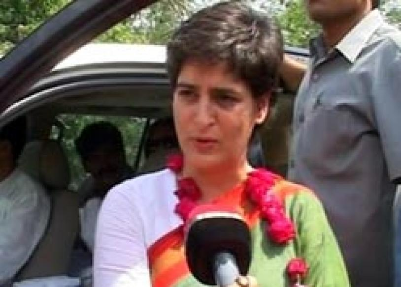 Priyanka Gandhi urges people to vote to fight militancy