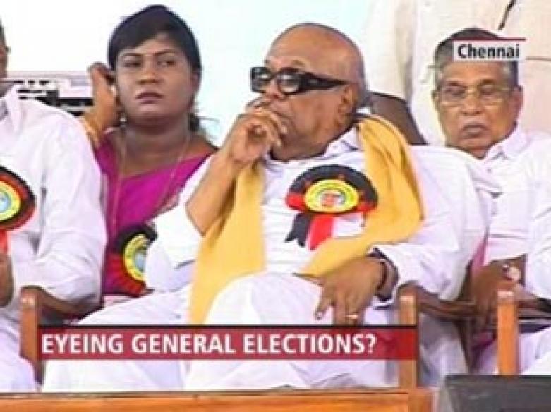 Karunanidhi elected DMK president, Stalin treasurer