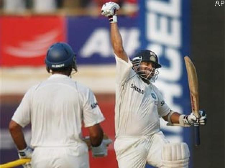 Sachin's ton applies balm on Mumbai's wounds