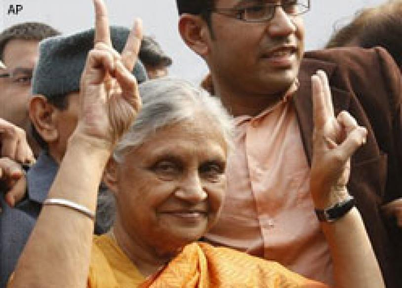 Sheila Dikshit is India's longest serving woman CM