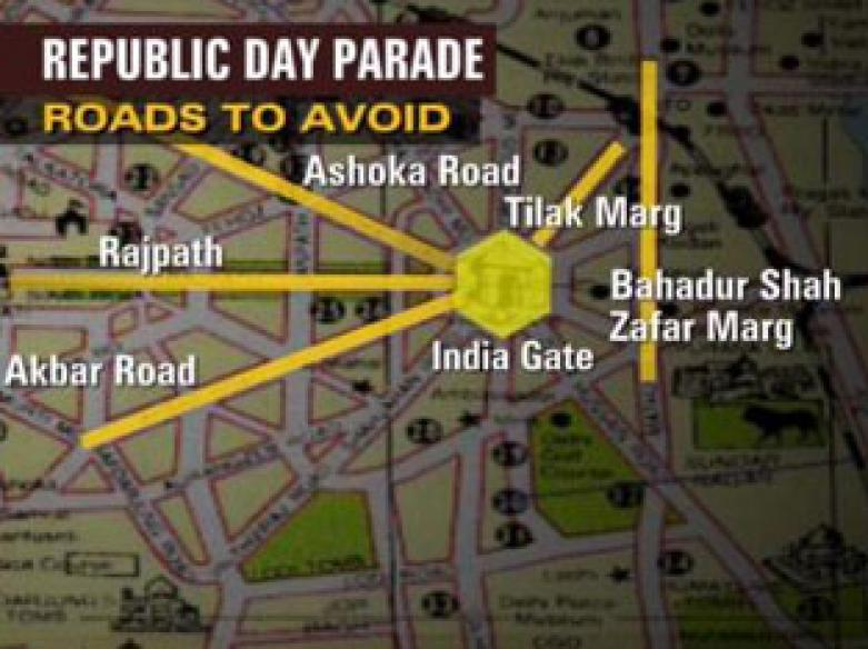 Routes changed as Delhi hosts Republic Day gaiety