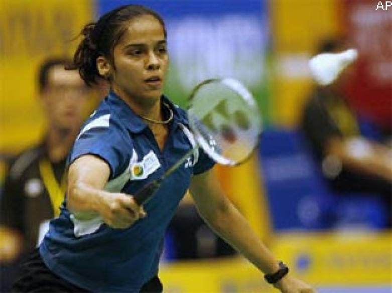 Shuttler Saina eyes a place in top five