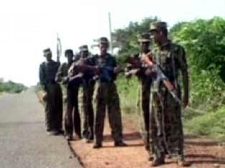 Lanka troops capture Black LTTE base, haul arms