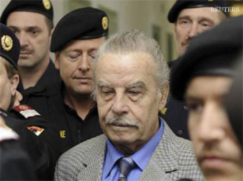 Austrian rapist father Josef Fritzl gets life term