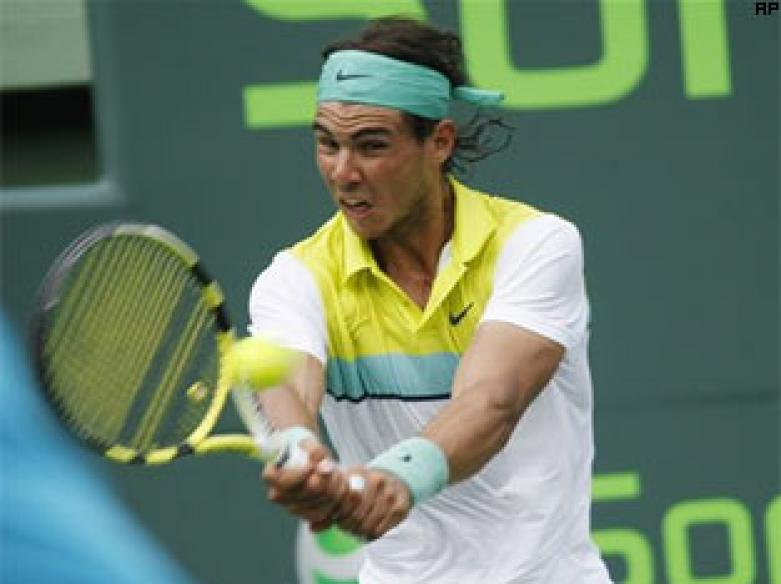 Nadal, Murray enter fouth round in Miami