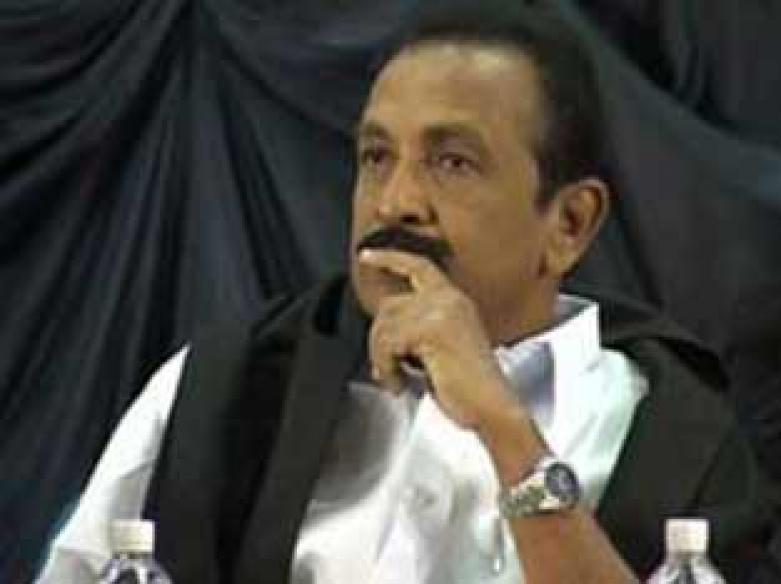 Tamil Nadu govt threatens to slap NSA against Vaiko