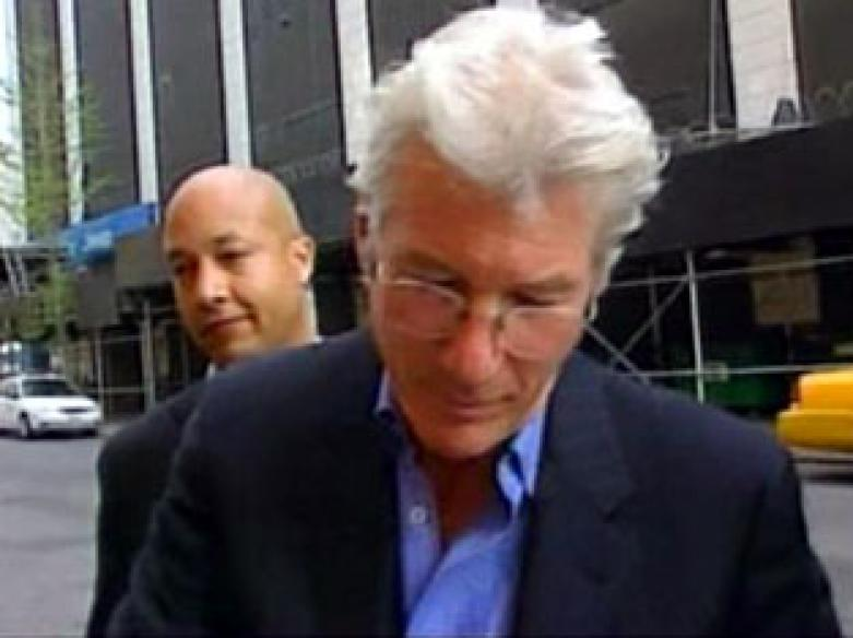 Richard Gere in Dharamsala to support Tibet's cause