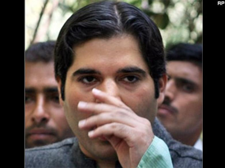 Mouth shut, Varun Gandhi explains his politics