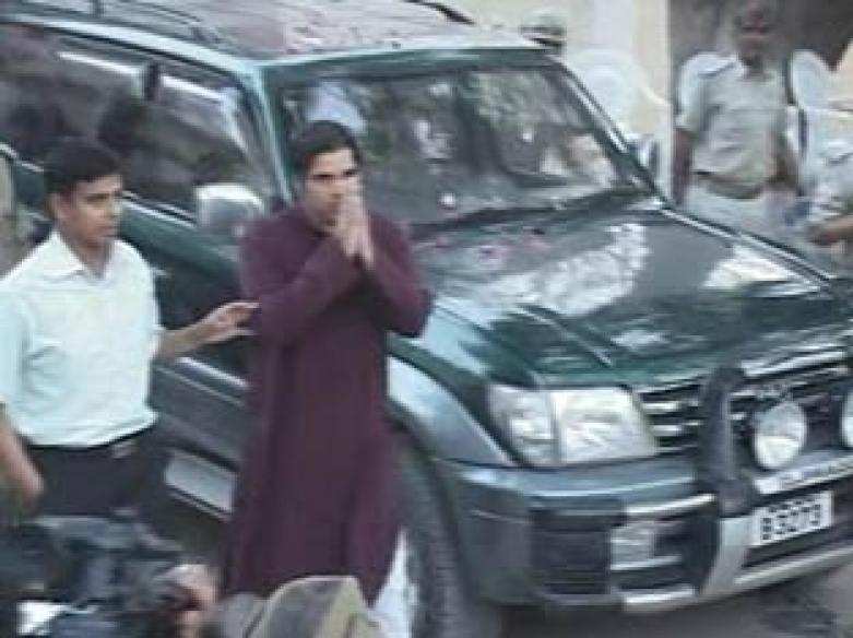 Varun Gandhi released from jail after 20 days