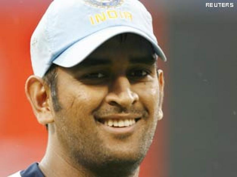 <a href='http://ibnlive.in.com/news/dhoni-to-lead-team-india-in-t20-world-cup/91717-5.html'>Dhoni to lead team India in T20 World Cup</a> | <a href='http://ibnlive.in.com/conversations/thread/93925.html'>Winning team?</a>