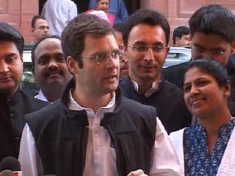 Rahul learnt boxing to keep fit for polls