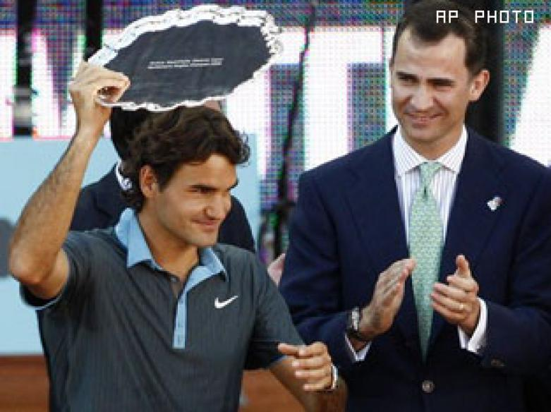 Nadal win gives Federer boost before French Open
