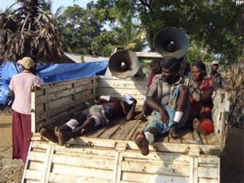 Sri Lanka claims to have cornered LTTE chief